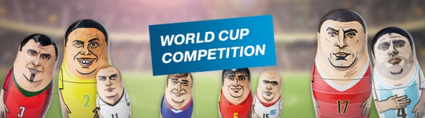 World Cup Competition 2018 Header