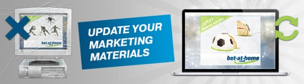 Update your marketing materials 2018